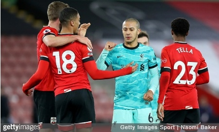 Southampton 1-0 Liverpool: Five things to note as champions slump continues