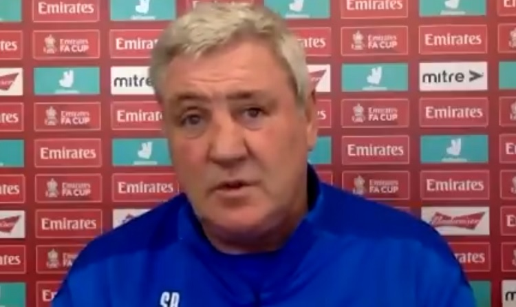 """""""I can't see much being done"""" – Newcastle United boss Steve Bruce on January transfer window (Video)"""