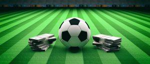 Scorecast betting market in football